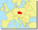Europe map, click Czech Republic for more detail...